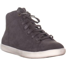 Cole Haan Grand Crosscourt High Top Sneakers, Stormcloud Camoscio, 6 US - $107.99