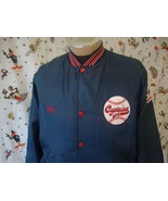 Vintage Shreveport Captains jersey Jacket Sz L Minor League Baseball - $98.99