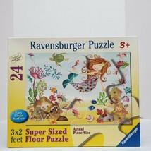 Ravensburger Youth Mermaid 24 Piece 3'X2' Super Sized Floor Jigsaw Puzzl... - $7.61