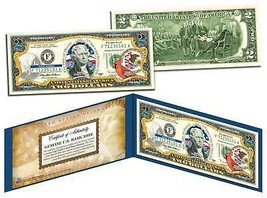 ILLINOIS $2 Statehood IL State Two-Dollar US Bill *Genuine Legal Tender*... - $13.81