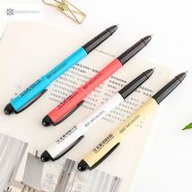 Smooth writing Coloful Gel Pen Kawaii Canetas Escolar Cute Korean Statio... - $3.58