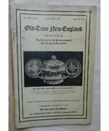 1/1936 Old Time New England SPNEA Vol XXVI #3 Adams House Quincy MA Nank... - $15.00