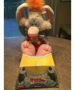 NEW ROGER RABBIT PLUSH 1988 PLAYSKOOL DISNEY NEVER REMOVED FROM BOX - $46.39
