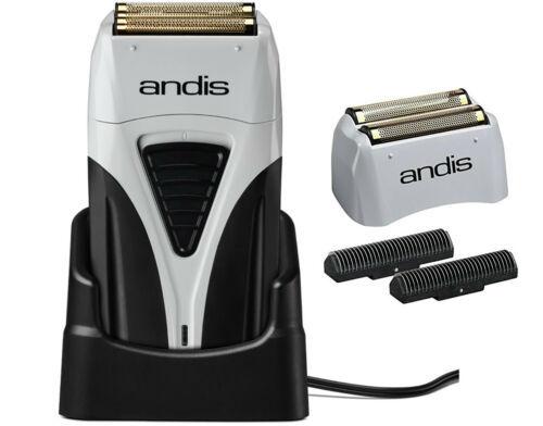 Andis Profoil Lithium Plus Titanium Foil Cordless Shaver 17200 & Replaceme 17155 - $89.09