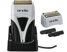 Andis Profoil Lithium Plus Titanium Foil Cordless Shaver 17200 & Replace... - $89.09