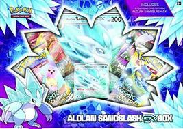 Pokemon TCG: Alolan Sandslash-GX Box   4 Booster Packs   1 Foil Promo Ca... - $32.90