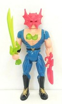"""Vintage Double Dragon Billy Lee 4.5"""" Action Figure Complete Tyco 1993 Used - $19.00"""