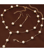European and American jewelry sweet OL elegant Pearl concise temperament... - $9.39