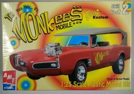 Monkees Mobile Model Kit 30259-1HD 1:25 AMT ERTL Barris Kustom NIB Sealed 2000 - $38.69