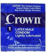 Okamoto Crown Lightly Lubricated Skin Thin Sensitive Bulk Condoms 18 pack - $6.24