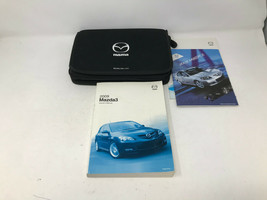 2009 Mazda 3 Owners Manual Handbook Set with Case OEM Z0A1078 - $22.26