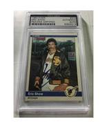 Eric Shaw 1984 Fleer Autographed Card PSA/DNA - $35.00