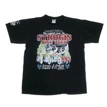 Men's XL Sturgis Bike Week T Shirt 2002 Harley 62nd Annual - €22,86 EUR