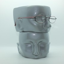Reading Glasses Bronze Metal Oval Octagon Narrow Hip +3.00 Lens Strength image 2