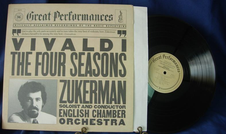 Zukerman-English Chamber - VIVALDI The Four Seasons - CBS 38478