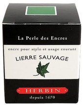 J. Herbin Fountn Pen Ink 30Ml Lierre Sauvage - $11.49