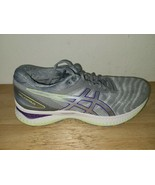 ASICS Gel Nimbus 22 1012A587 FlyteFoam Running Shoes, Women's Size 11 Gray - $59.39