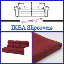 IKEA LIDHULT Slipcover Cover for sofa section Lejde red-brown 004.050.67 - $99.99