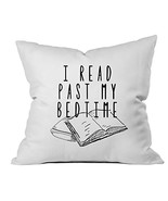 Oh, Susannah Read Past My Bedtime Book Lovers Gifts 18x18 Inch Throw Pil... - $16.45