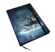 """Celtic Wolf Journal by Brigid Ashwood ~Book of Shadows~ 5.5"""" x 8"""" Wolves - $14.95"""