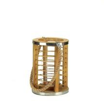 Strand Wooden Candle Lantern - $37.02