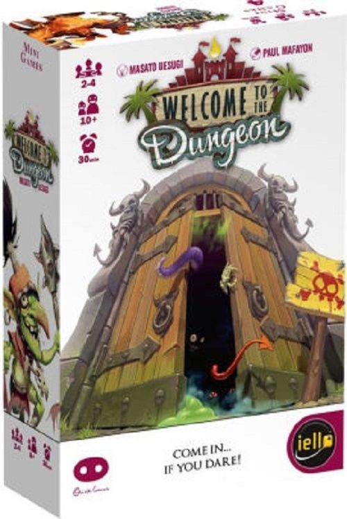DUNGEON BOARD GAME CARD MEDIEVAL TOY TEEN ADULT AGE 10 UP MANDOM MONSTERS GOTHIC