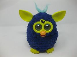 2012 Furby Starry Night Blue & Yellow Inter-Active Animal Toy Hasbro Tal... - $19.79