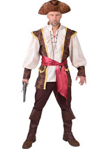 Pirate Man - Waistcoat style , XS - XXL includes Hat - $66.52