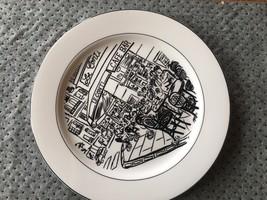 Mikasa Parisian Scenes HK114 Ultima+ Design by Susan Steinberg Dinner Plate - $18.80