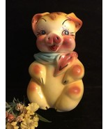 Vintage American Bisque Pig Cookie Jar - $157.41