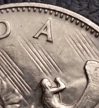 1969 Canada Nickel $1 One Dollar Coin **Die Cracks Around A** Free Combi... - $2.73