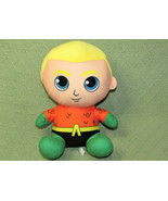 TOY FACTORY AQUAMAN SUPER HERO JUSTICE LEAGUE PLUSH DC COMICS PLUSH STUF... - $14.85