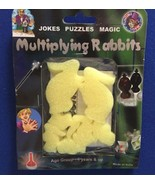 Multiplying Sponge Rabbits Magic Trick - Yellow - A Classic - Great For ... - $6.95