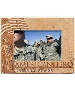 National Guard American Hero Laser Engraved Wood Picture Frame (5 x 7) - $29.46