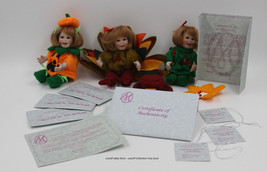 "Marie Osmond ""Small Dolls For All Seasons"" Trio Collectible Dolls - $40.00"