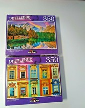 European Windows and Fusine Lake Mt Mangart Italy Jigsaw Puzzles 350 Pcs... - $14.85