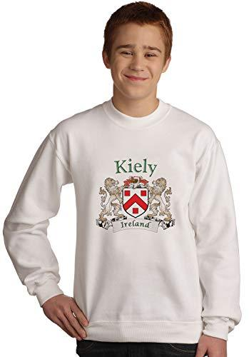 Primary image for Kiely Irish coat of arms Sweatshirt in White
