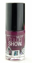 Set of 6 Maybelline Color Show Nail  Polish Assorted Colors Burgundy Tau... - $16.99