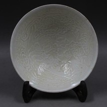 Fine Chinese Song Fixed kiln Porcelain tree peony and Phoenix Bowl - $120.27