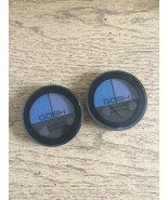 2 x GOSH Matt Duo Eye Shadow #004 Blue Moon NEW & Sealed Lot of 2 - $12.73