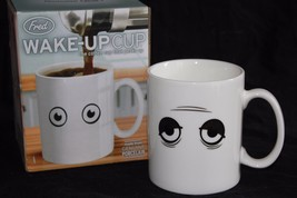 Fred and Friends Heat Sensitive Morning Coffee Cup Mug NEW in BOX - £8.96 GBP