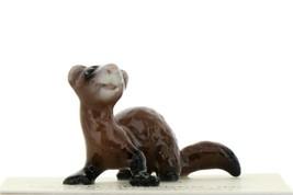 Hagen Renaker Miniature Ferret Crouching Ceramic Figurine