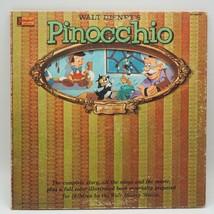 Clásico Walt de Disney Pinocchio Record Álbum Vinilo LP - £26.46 GBP