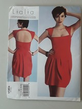 VOGUE Designer 1304 LIALIA  Miss Pullover Dress Size 12-20 Sewing Pattern - $7.88