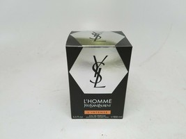 YSL L'HOMME L'INTENSE by Yves Saint Laurent Original Size was 3.3oz EDP ... - $64.99