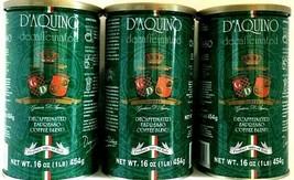 D'Aquino Decaffeinated Espresso Blend Ground Coffee(Italian Espresso) 16... - $54.44