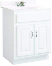 Design House 541029 Concord Ready-To-Assemble 2 Door Vanity, White, 24-I... - $289.13