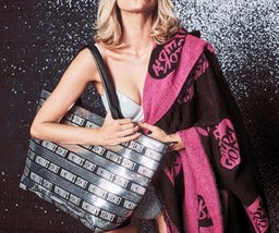 Victoria's Secret Limited Edition Black Friday Sequin Tote & Wristlet + ... - $62.85