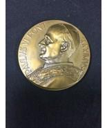 VTG Pavlvs Vi Pont Maximvs Tibi Dabo Claves Regni Coelorvm Bronze Coin 1... - $65.41