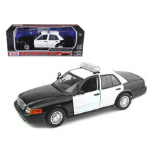 Ford Crown Victoria Unmarked Police Car 1/18 Diecast Model Car by Motorm... - $58.69